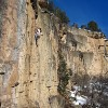 Winter Rock Climbing in Western Colorado