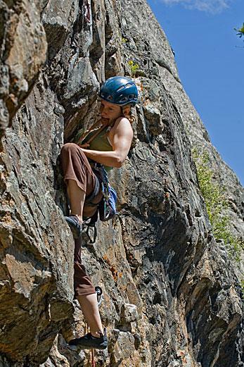 Mountain climbing boobs