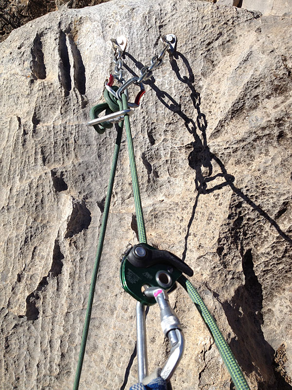 Tech Tip Rappelling With A Grigri Or Cinch Or What Have You
