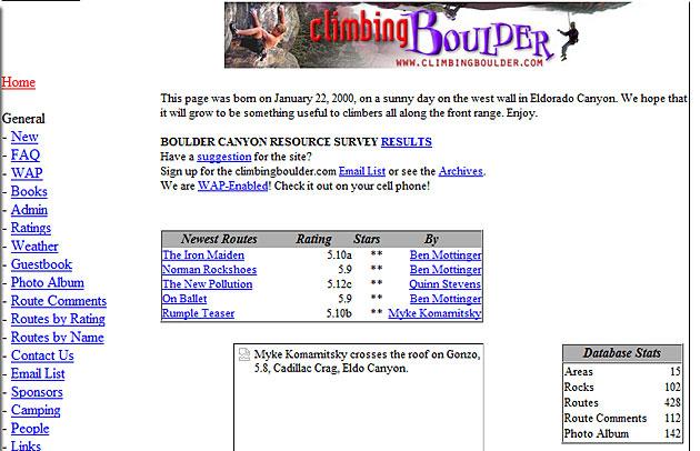 Old web sites